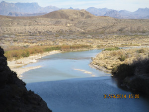 Rio Grande at Big Bend