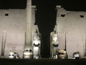 Temple of Luxor at Night