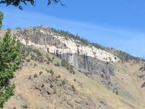 Ash and Ancient Lava near Summer Lake